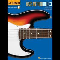 Hal Leonard Bass Method: Book 3 (Second Edition) (Book/Online Audio)