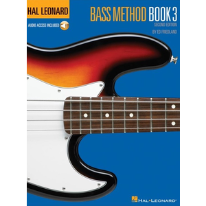Hal Leonard Bass Method: Book 3 (Second Edition) (Book/Online Audio)