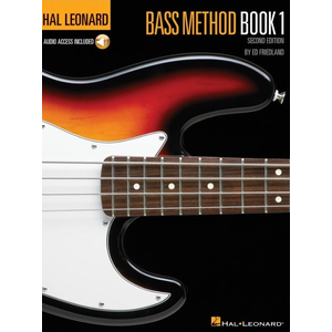 Hal Leonard Bass Method: Book 1 (Second Edition) (Book/Online Audio)