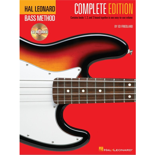 Hal Leonard Hal Leonard Bass Method: Complete Edition (Second Edition) (Book/Online Audio)