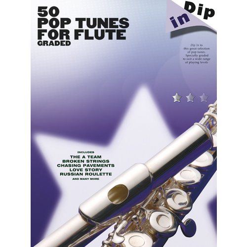 Wise Publications Dip In: 50 Graded Pop Flute Solos