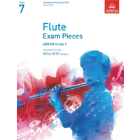 ABRSM Exam Pieces 2014-2017 Grade 7 Flute/Piano (Book Only)