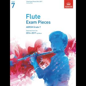 ABRSM Exam Pieces 2014-2017 Grade 7 Flute/Piano (Book Only)