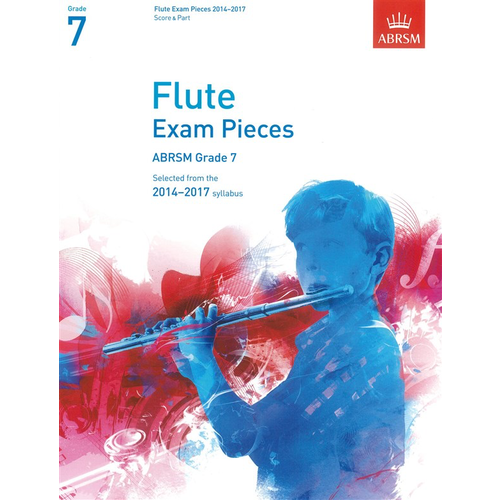 ABRSM Publishing ABRSM Exam Pieces 2014-2017 Grade 7 Flute/Piano (Book Only)