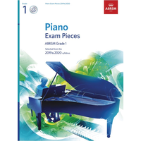 ABRSM Piano Exam Pieces: 2019-2020 - Grade 1 (Book/CD)