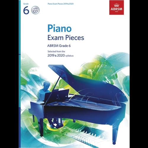 ABRSM Publishing ABRSM Piano Exam Pieces: 2019-2020 - Grade 6 (Book/CD)
