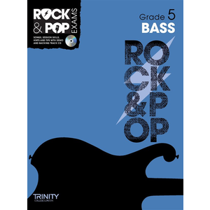 Trinity Rock & Pop Exams: Bass Guitar Grade 5