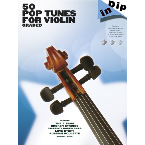 Wise Publications Dip In: 50 Graded Pop Violin Solos