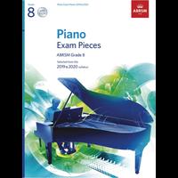 ABRSM Piano Exam Pieces: 2019-2020 - Grade 8 (Book/CD)
