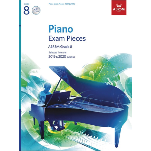 ABRSM Publishing ABRSM Piano Exam Pieces: 2019-2020 - Grade 8 (Book/CD)