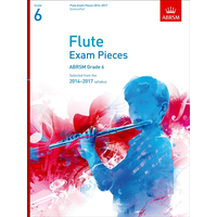 ABRSM Exam Pieces 2014-2017 Grade 6 Flute/Piano (Book Only)