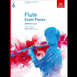 ABRSM Exam Pieces 2014-2017 Grade 6 Flute/Piano (Book Only)