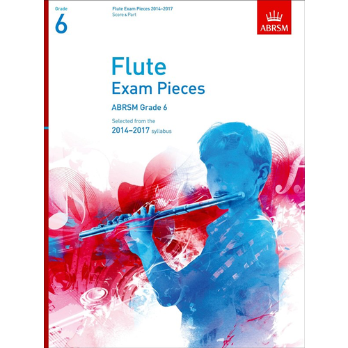 ABRSM Publishing ABRSM Exam Pieces 2014-2017 Grade 6 Flute/Piano (Book Only)