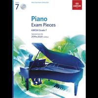 ABRSM Piano Exam Pieces: 2019-2020 - Grade 7 (Book/CD)
