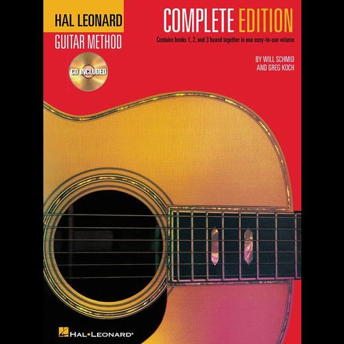 Hal Leonard Hal Leonard Guitar Method: Complete Edition (w/ CDs)