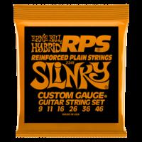 Ernie Ball RPS Reinforced Plain Strings Electric Guitar String Set