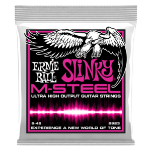 Ernie Ball M-Steel Electric Guitar String Set