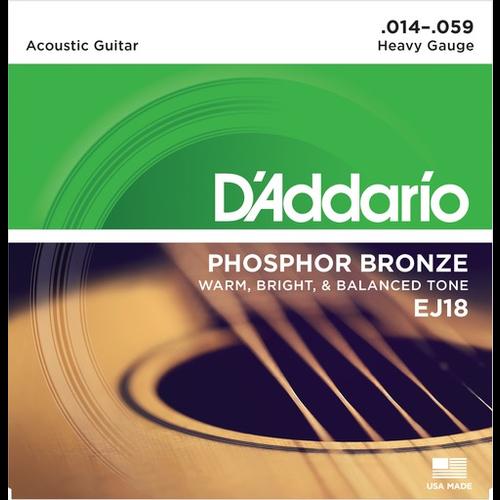 D'Addario D'Addario Acoustic String Set, Phosphor Bronze