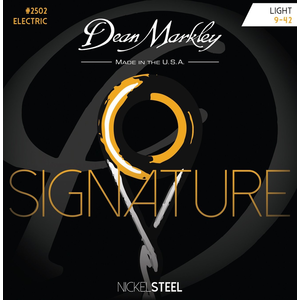 Dean Markley Signature Series Electric String Set Nickel