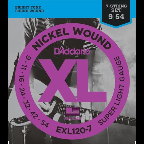 D'Addario D'Addario XL 7-String Electric Guitar String Set