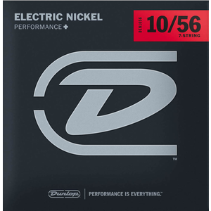 Dunlop Electric 7-String Set Nickel .010-.056