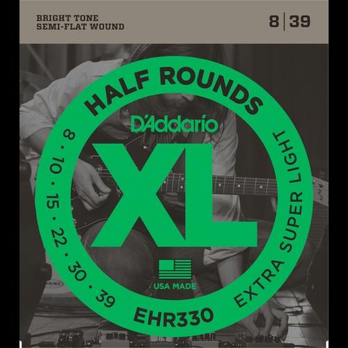 D'Addario D'Addario XL Half Round Electric Guitar String Set