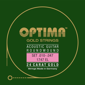 Optima Gold Acoustic String Set