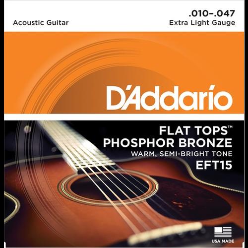 D'Addario D'Addario Flat Tops Acoustic String Set