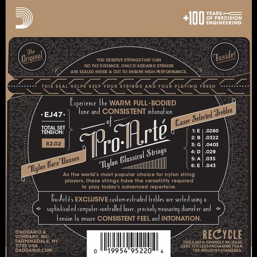 D'Addario D'Addario ProArte 80/20 Bronze Classical Guitar String Set
