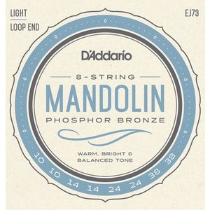 D'Addario Mandolin String Set, Phsophor Bronze