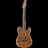Fender American Acoustasonic Telecaster, Limited Exotic, Koa