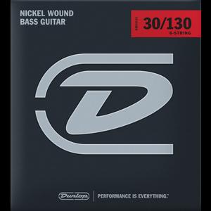 Dunlop 6-String Bass Set Nickel .030-.130
