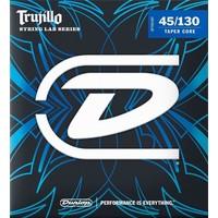 Dunlop Trujillo 5-String Bass Set Stainless Steel .045-.130