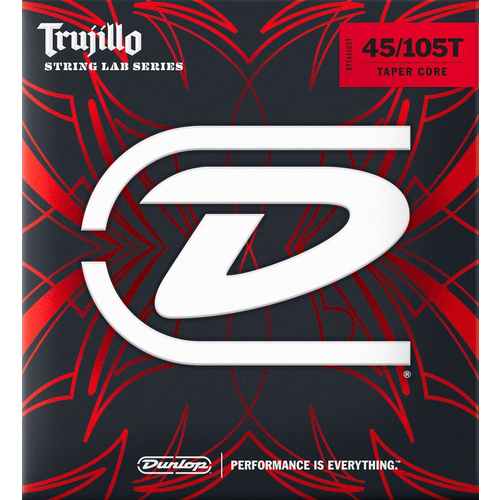 Jim Dunlop Dunlop Trujillo Bass String Set Stainless Steel .045-.105