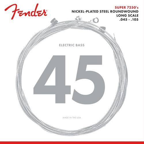 Fender Accessories Fender Super 7250 Bass String Set, Nickel