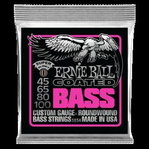 Ernie Ball Coated Bass Guitar String Set