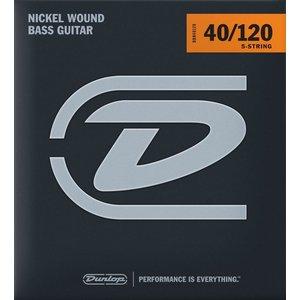 Dunlop 5-String Bass Set, Nickel