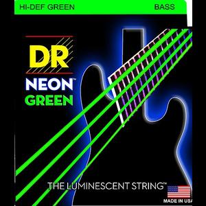 DR Neon Bass String Set, Green