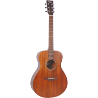 Vintage V300MH Folk Guitar, Solid Mahogany Top