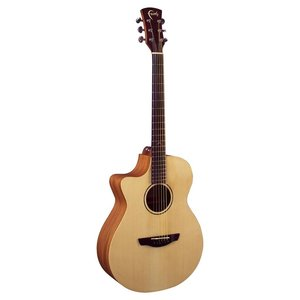 Faith Naked Venus Left-Handed Electro-Acoustic, All Solid, Engelmann Spruce Top, Indonesian Mahogany Back