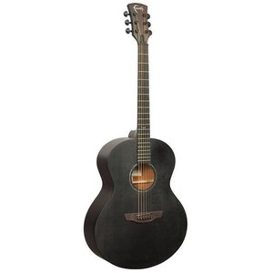 Faith Naked Neptune, Electro-Acoustic, All Solid, Engelmann Spruce Top, Mahogany Back, Black Stain