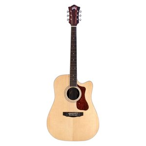 Guild D-260-CE Electro-Acoustic Dreadnought, Solid Sitka Spruce Top, Striped Ebony Back and Sides