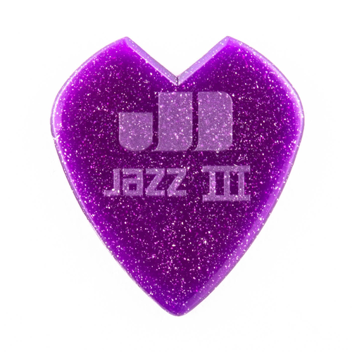 Jim Dunlop Jim Dunlop Kirk Hammett Custom Jazz III Picks, 6 Pack