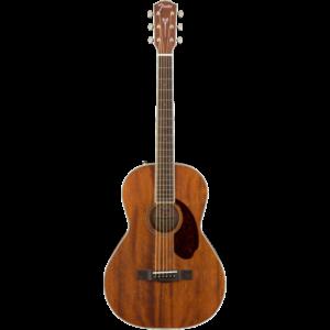 Fender Paramount PM-2 Parlour NE, All Solid Mahogany w/ Hard Case