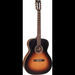 Vintage VE440 Electro-Acoustic Folk Size Guitar, Solid Spruce Top, Mahogany Back w/ Fishman Matrix, Vintage Sunburst