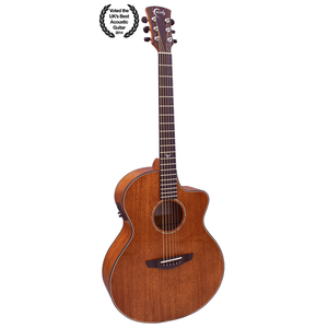 Faith Mahogany Neptune Electro-Acoustic, All Solid Mahogany