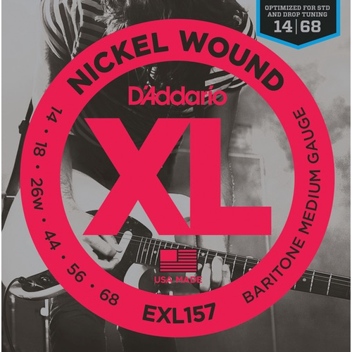 D'Addario D'Addario XL Electric Guitar String Set, Wound 3rd