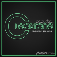 Cleartone Coated 12-String Acoustic String Set, Phosphor Bronze, .010-.047