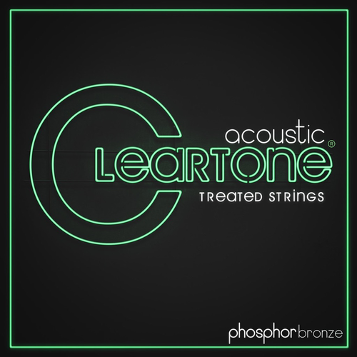 Cleartone Cleartone Coated 12-String Acoustic String Set, Phosphor Bronze, .010-.047