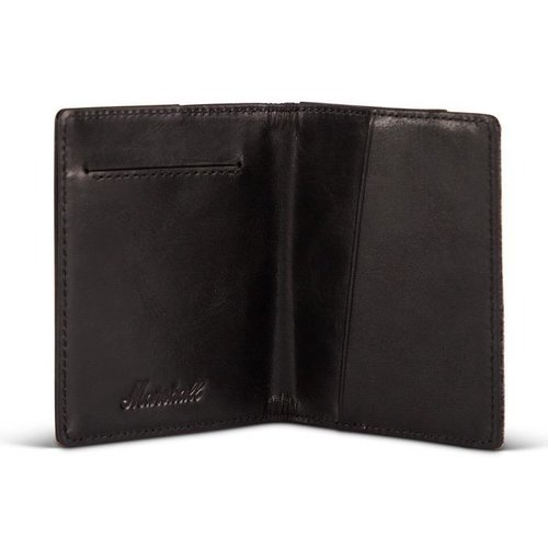 Marshall Marshall Denim & Leather Card Wallet